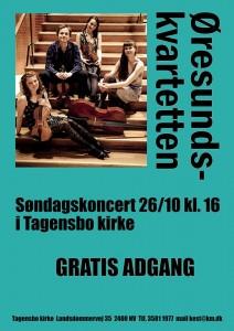 Øresund Tagensbo plakat